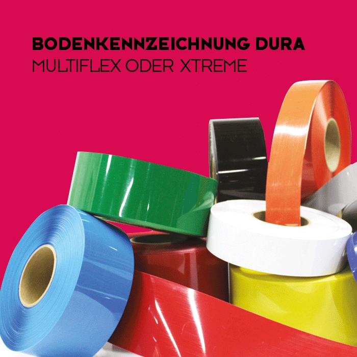 Bodenkennzeichnung Dura - Multiflex oder Xtreme