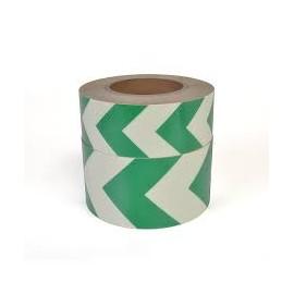 Markierungsband Nachleuchtend Richtungspfeil grün