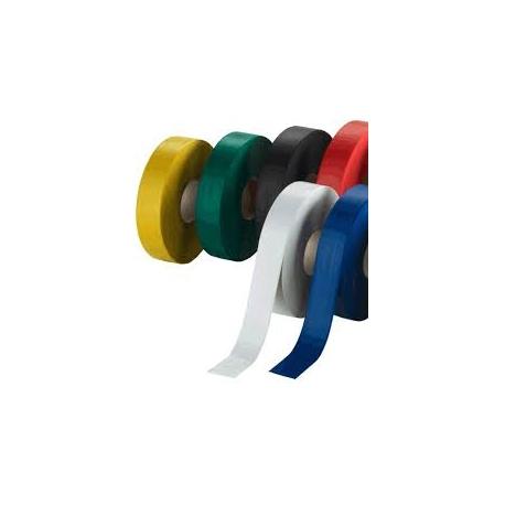 Markierungsrollen in den Farben: Gelb / grün / rot / orange / blau / weiss / schwarz / schwarz-gelb