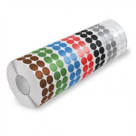 Markierungspunkte / Farbpunkte zum Aufkleben
