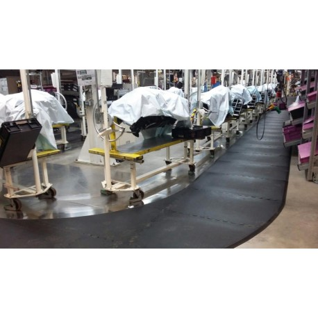 Fertigungslinien-Mattensystem