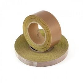 Gleitklebeband aus Teflon und Glasgewebe mit Gleitoberfläche