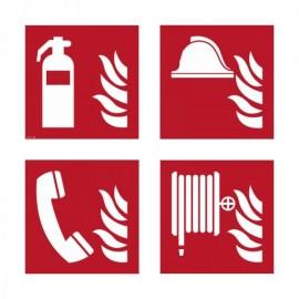Brandschutzschilder