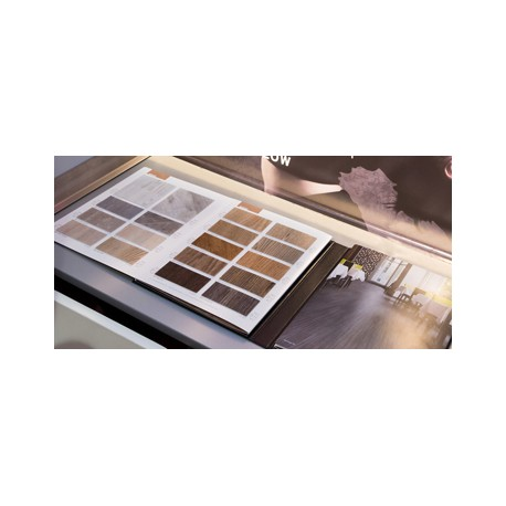 Kataloge Industriebodenbeläge / Bodenbelag für Krankenhaus aus Naturkautschuk und PVC / Vinyl