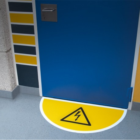 Tür-Bodenmarkierung