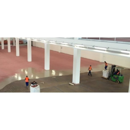 Sanierung von Industrieboden