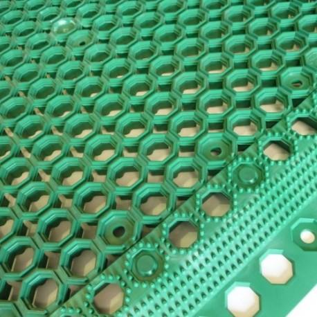 Gummimatten Garten grün