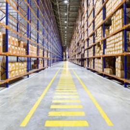 Hallenmarkierung Werksmarkierung für Gabelstapler