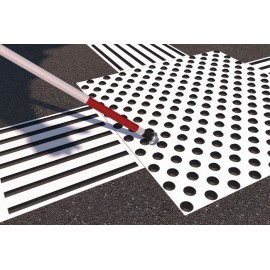 Bodenleitsystem für blinde Menschen