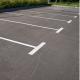 Parkplätze Linienmarkierung thermoplastisch