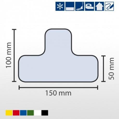 Tiefkühl-Stellplatzmarkierung T-Stück