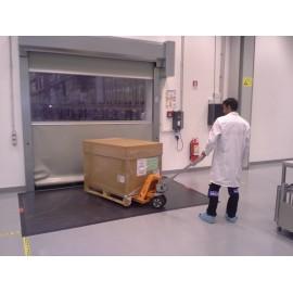 Hubwagen-Klebematte (Reinraum/Hygiene)