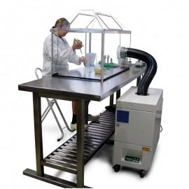 Mobile Absauganlage mit Luftfiler für Löten Laser