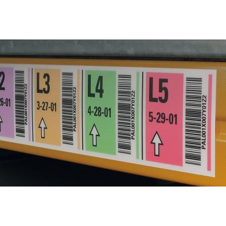 Regalkennzeichnungen selbstklebend