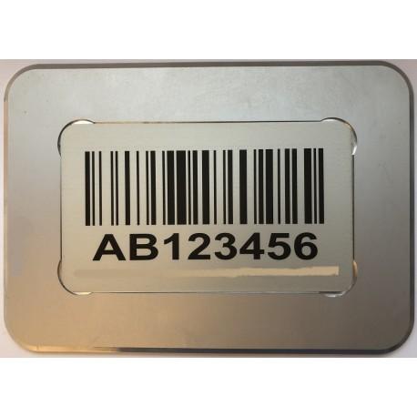 Lagerkennzeichnung mit Barcode Boden selbstklebend