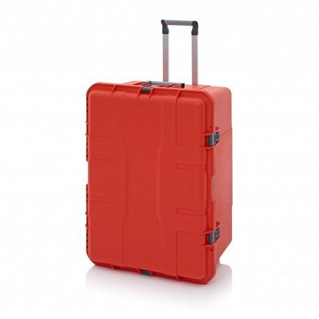 Koffer mit Laptop
