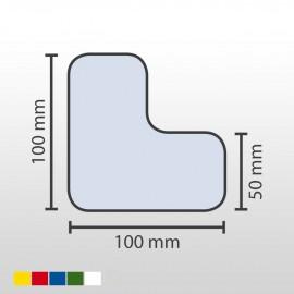 Stellplatzmarkierungen (unebener Untergrund)