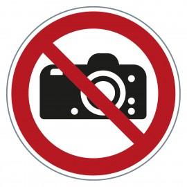 Verbotszeichen Fotografieren verboten