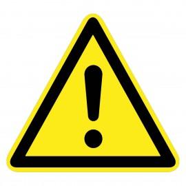 Warnzeichen - Allgemeines Warnzeichen