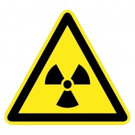 Warnzeichen - Warnung vor radioaktiven Stoffen oder Ioniesierender Strahlung