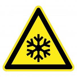Warnzeichen - Warnung vor niedriger Temperatur/Frost