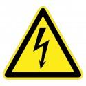 Warnzeichen - Warnung vor elektrischer Spannung