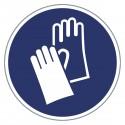 Gebotszeichen - Handschuhe benutzen