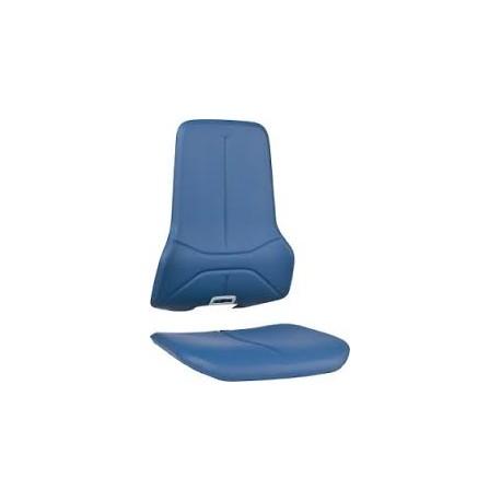Integralschaum blau
