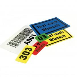 Lagerbedarf und Lagerkennzeichnungen